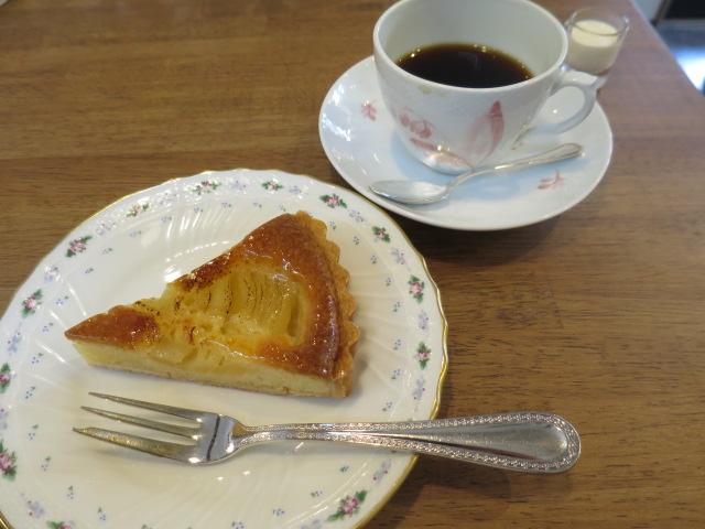 本日のケーキ・コーヒー