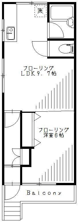 【間取り】2F【リフォーム後】