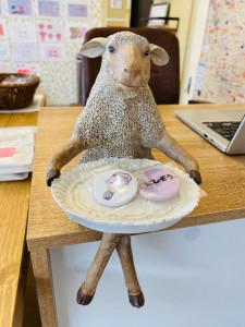 インテリア羊